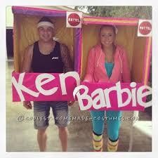 Barbie Costume Halloween Homemade Sports Ken Barbie Box Costume Barbie Homemade