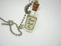 silver bottle necklace images Moon dust 2ml glass vial glass bottle necklace glow in the jpg