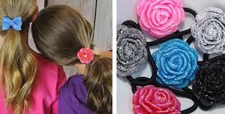 ponytail holders flower ponytail holders heyduckee