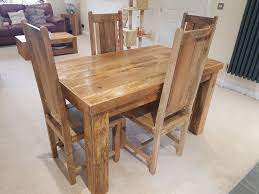 Mango Dining Table Mango Wood Dining Table And 4 Chairs Best Gallery Of Tables