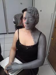Weeping Angels Halloween Costume Deviantart Weeping Angel Makeup Face