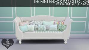Sofa Bed Collection The Mint Bedroom Collection At Dreamcatchersims4 Sims 4 Updates