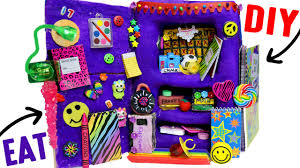 How To Decorate A Backpack With Sharpie Diy Edible Locker Eat Locker Decor Combination Lock