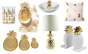 pineapple decorations for kitchen kitchen design 20 beautiful gold pineapples for home decor the kim six fix gold pineapple decor ideas