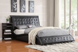 Eastern King Bed Coaster 300362ke Tully Black Eastern King Bed
