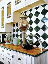 ceramic tile backsplashes harlequin pattern marble tiles and