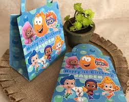 Bubble Guppies Birthday Decorations Bubble Guppies Party Etsy