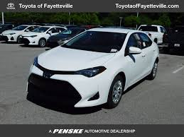 toyota car models new toyota corolla at toyota of fayetteville serving nwa