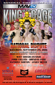 king of the cage returns to seneca niagara resort u0026 casino on