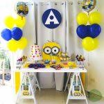 minion baby shower minion baby shower ideas wally designs
