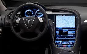Tesla Interior Model S Tesla Model S P85d Crash Full Review First Drive Interior