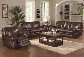 living room ottawa genuine top grain leather sofa set and