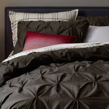 bedroom pintuck duvet pintuck duvet cover organic duvet covers