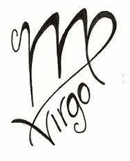 virgo symbols signs tattoos virgo zodiac tattoo designs