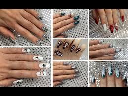 nail art tutorials winter 2017 youtube