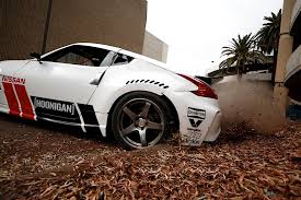 car nissan black nissan and hoonigan u0027s black friday has two 1 000 hp cars and an