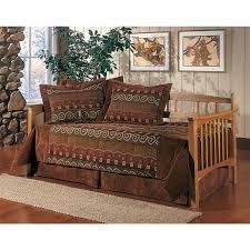 hillsdale mission oak daybed frame 126880 bedroom sets at