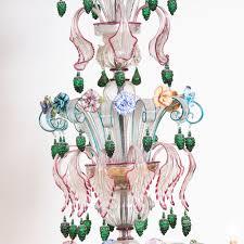 Murano Chandeliers Semi Rezzonico Murano Glass Chandelier Shop Striulli Vetri D