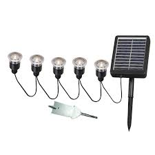 portfolio solar path lights kenroy home 60503 solar light string 5 light set landscape path