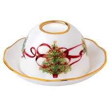 old country roses christmas tree tealight holder discontinued