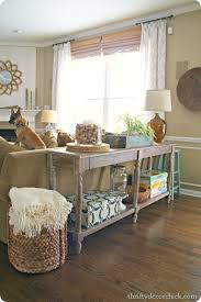 Best  Table Behind Couch Ideas On Pinterest Behind Sofa Table - Family room tables