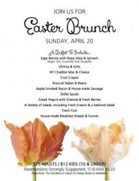 Easter Brunch Buffet by Easter Brunch Nwbb New World Bistro Bar