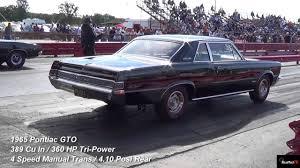 1968 dodge charger r t vs 1965 gto tri power 1 4 mile drag race