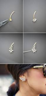 how to make ear cuffs diy jewelry diy ear cuff tutorial from honestly jewelry