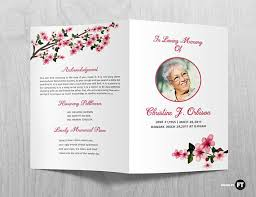 printable funeral programs funeral program template printable funeral program