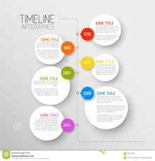 Business Travel Report Template Infographic Timeline Report Template Stock Vector Image 38806727