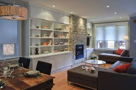 Fireplace With Built In Cabinets Stone Fireplace Built Ins Houzz