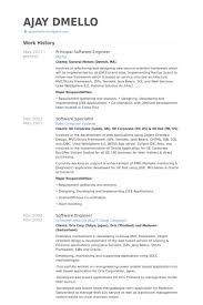 Principal Resume Samples by Principal Software Engineer Resume Samples Visualcv Resume