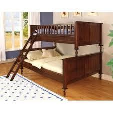 Hokku Designs Milton Twin Over Full Futon Bunk Bed  Reviews Wayfair - Twin over full wood bunk beds