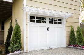 garage doors trellis over garage door the diy aluminum kits