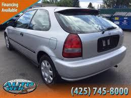 2000 honda civic hatchback sale 2000 honda civic hatchback in washington for sale used cars on