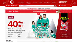 in store target black friday black friday marketing highlights