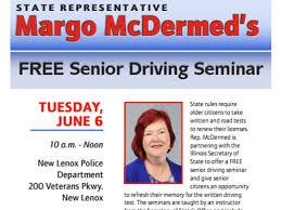 senior driving class rep mcdermed hosting free senior driving seminar new lenox il