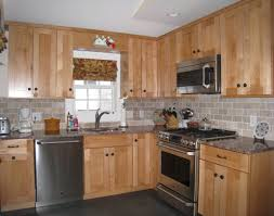 pleasing maple kitchen cabinets with dark wood floors tags maple