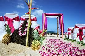 hawaiian themed wedding hawaiian themed wedding