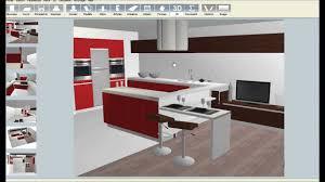 cuisine virtuelle 3d gratuit faire plan de cuisine en 3d gratuit