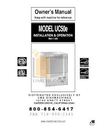 Cma 180 Dishwasher Manual Download Free Pdf For Cma Cma S Dishwasher Manual