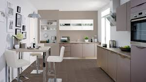 Cuisine Blanc Gris by Cuisine Gris Taupe On Decoration D Interieur Moderne Meuble Idees