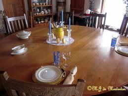 elegant table setting u2013 elegant survival news