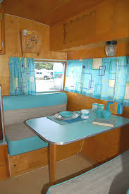Camper Interior Decorating Ideas by Pictures Of Ideas To Decorate Vintage Trailer Fun Kitchen Retro
