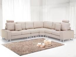 canap tissu beige canapé d angle canapé en tissu beige sofa stockholm beliani fr