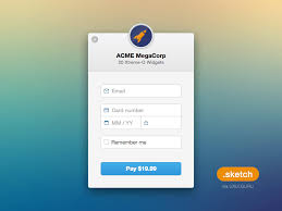 stripe checkout sketch freebie download free resource for sketch