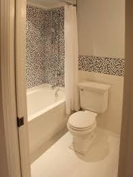 Modern Tile Bathroom - curved penny tile in the bathroom a stylist u0027s life renovation