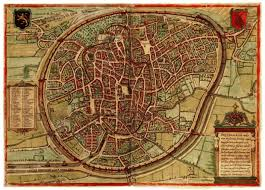 Wittenberg Germany Map by Mapping The Towns Of Europe The European Towns In Braun