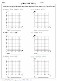 bunch ideas of plotting coordinates worksheets with layout