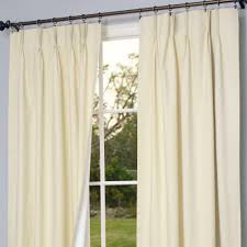 Pinch Pleat Drapes For Patio Door Pinch Pleat Drapes For Elegant Rooms All About Home Design
